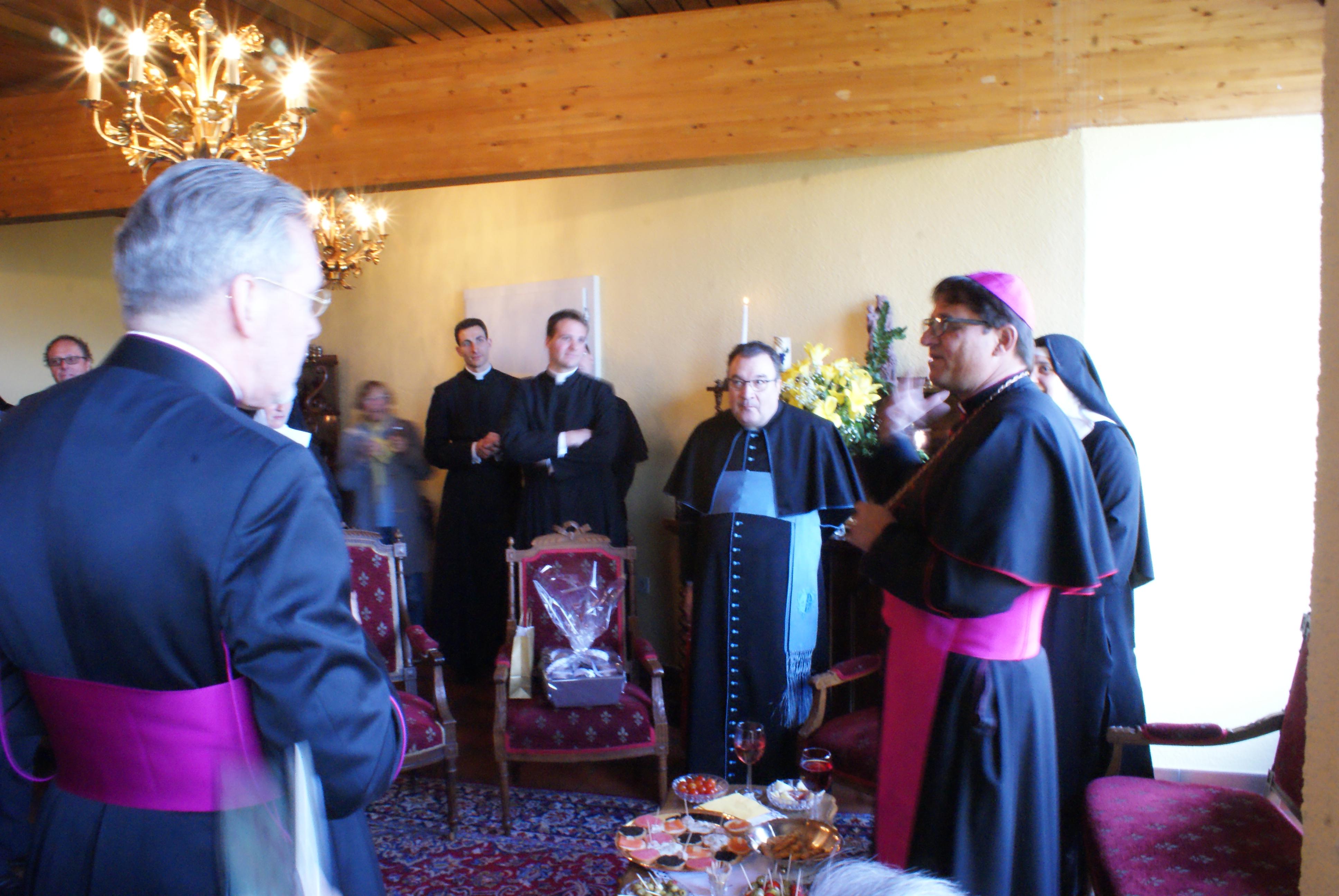 Besuch von Seine Exzellenz Dr. Felix Gmür, Bischof von Basel