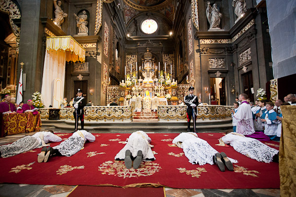 Priesterweihe in Gricigliano 2012