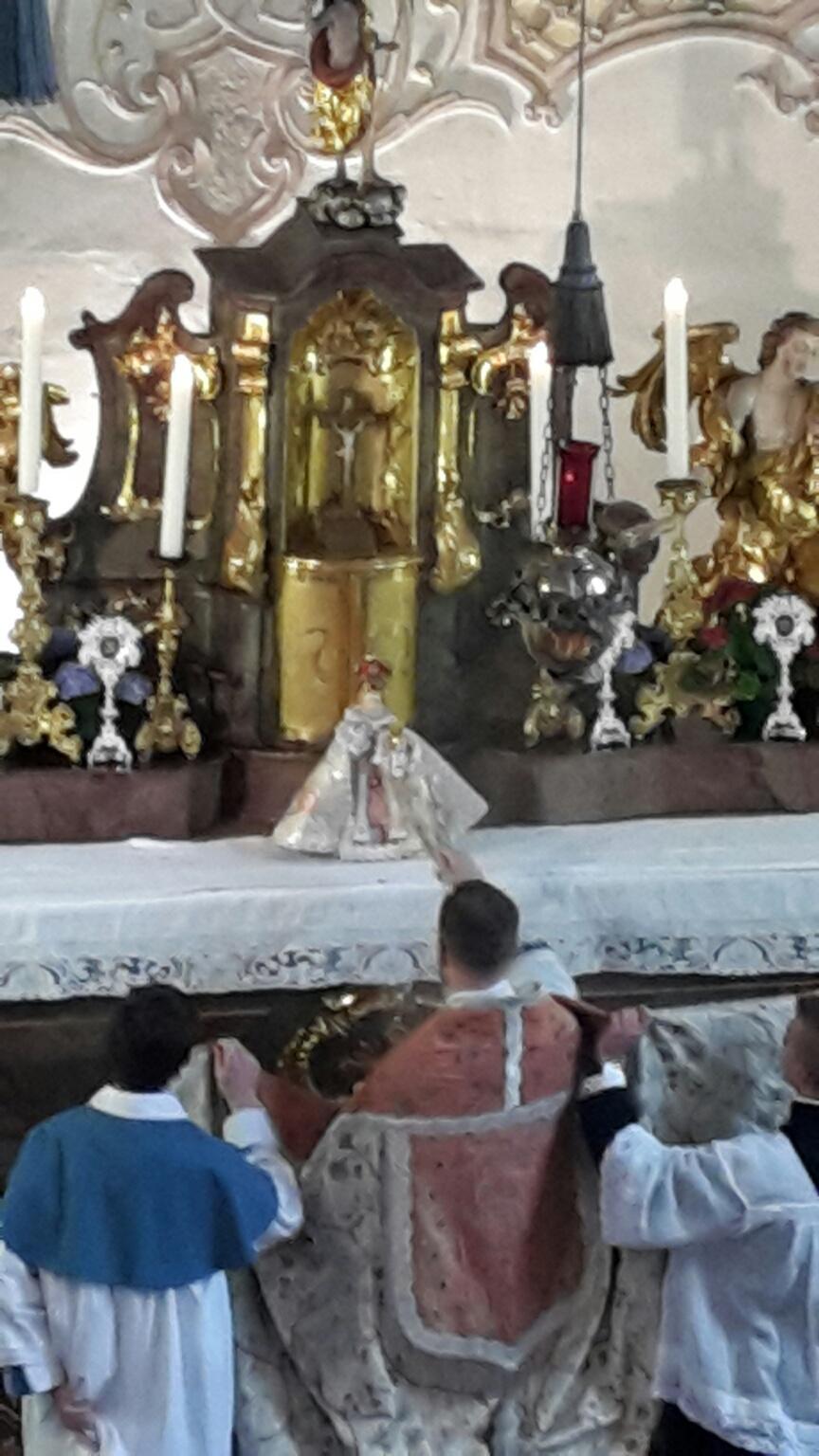 Fest des Prager Jesuleins