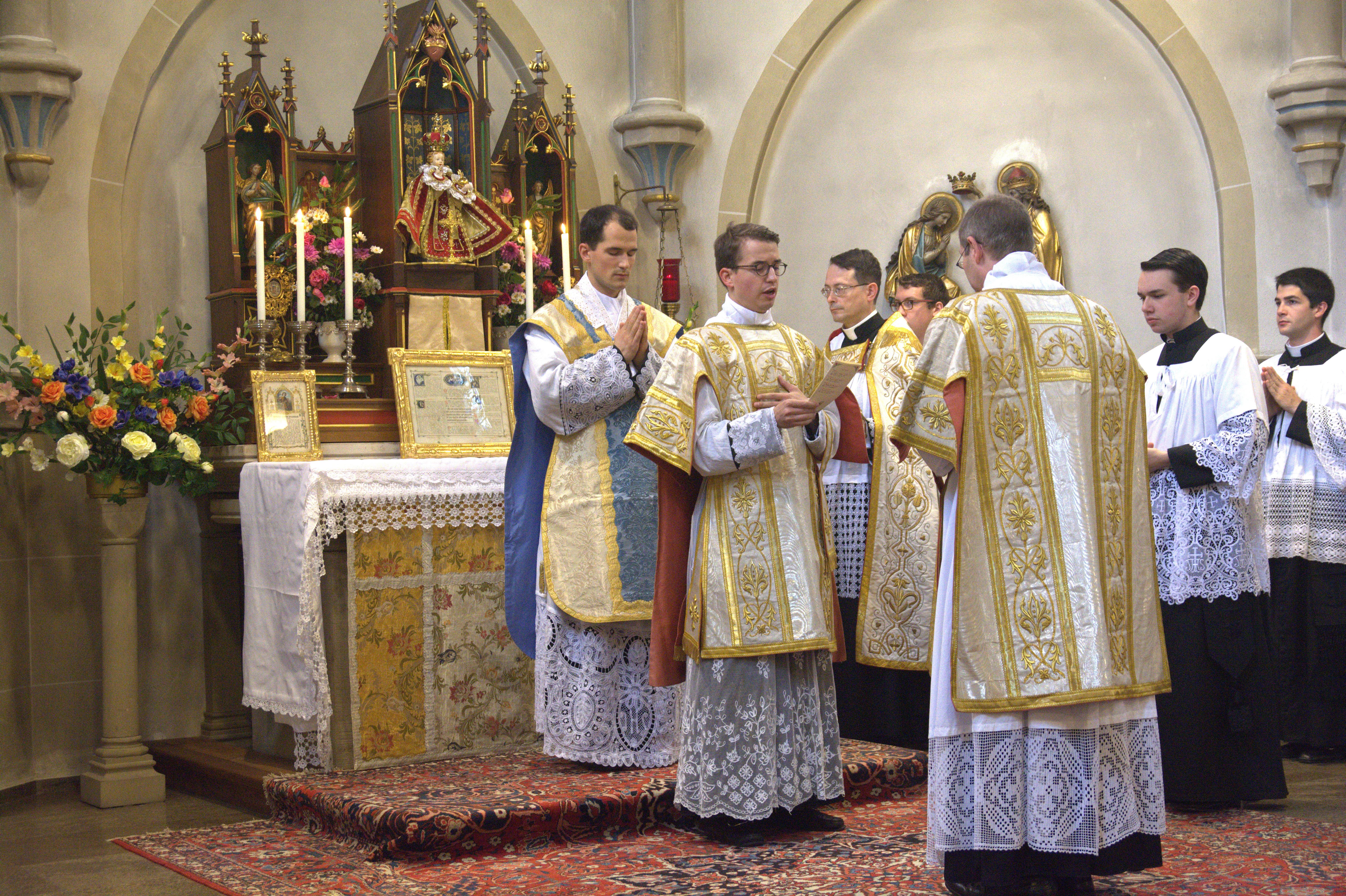 Heilige Priesterweihe