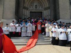 Priesterweihe durch S. Em. R. Kardinal Burke in den USA