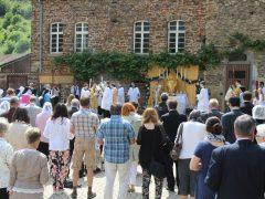 Fronleichnam in Kloster Maria Engelport 2019