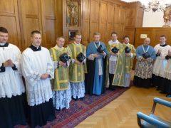 Primizmesse von Neupriester Ross Bourgeois