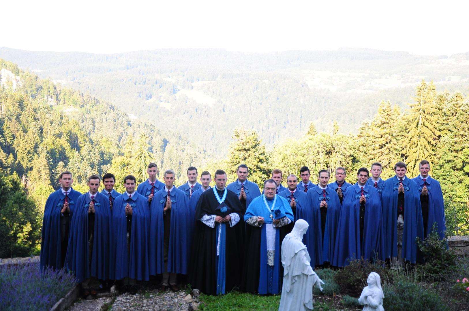 Neueintritte im Seminar St. Philipp Neri