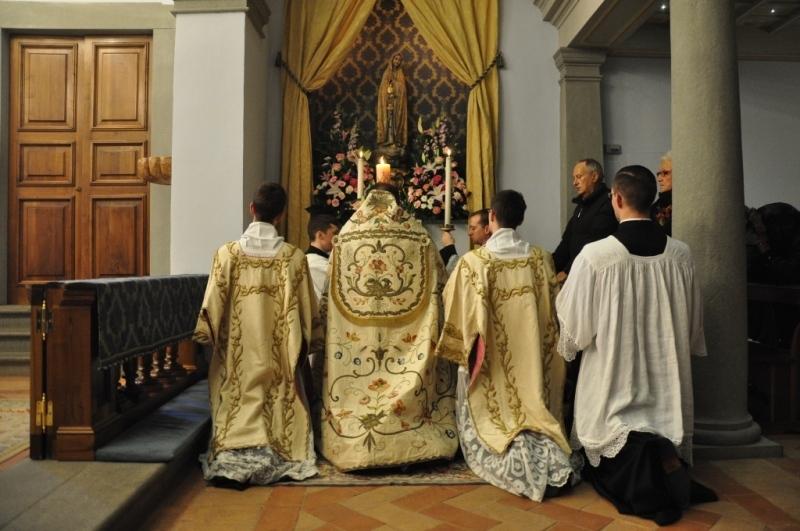 Fest der Unbefleckten Empfängnis in Gricigliano