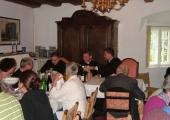Tagung bei Tisch